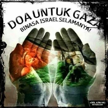 doakan rakyat palestin gaza